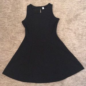 [Old Navy] Black fit and flare dress, M